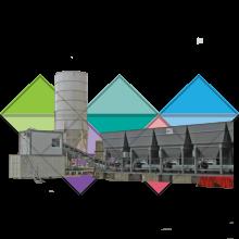 Асфальто-бетонный завод Amman ColdMix