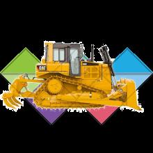 Продажа ходовых, катков, сегментов, траков, цепей и звездочек на бульдозер Caterpillar D6R