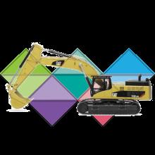 Продажа ходовых, катков, сегментов, траков, цепей и звездочек на экскаватор Caterpillar CAT 345
