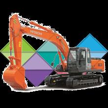 Продажа ходовых, катков, сегментов, траков, цепей и звездочек на экскаватор Hitachi ZX210