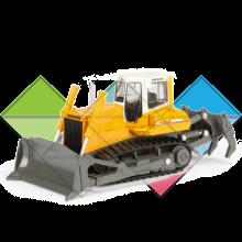 Продажа ходовых, катков, сегментов, траков, цепей и звездочек на бульдозер Liebherr PR744