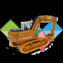 Продажа ходовых, катков, сегментов, траков, цепей и звездочек на экскаватор Liebherr R912